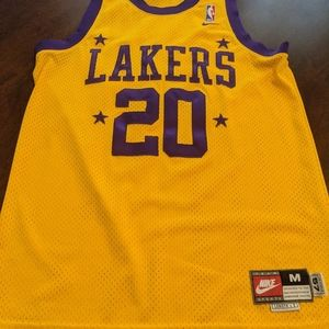 Gary Payton Los Angeles Lakers Jersey